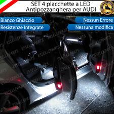 4 SET PLACCHETTE 18 LED ANTIPOZZANGHERA SPECIFICHE PER AUDI CANBUS 6000K BIANCO