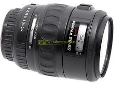 Pentax AF zoom 28/80mm. f 3,5-4,7 Power zoom, compatibile con reflex digitali.