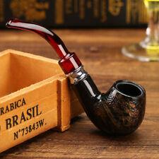 pipe à tabac style serpent  en résine bakelite