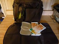 Fisher Price Fastfinder Deluxe Diaper Bag Brown 2012 Excellent condition