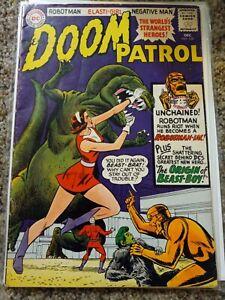 DC Silver Age Doom Patrol 1965 #100 Origin Beast Boy