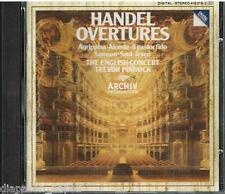Handel: Overtures / Trevor Pinnock, English Concert - CD