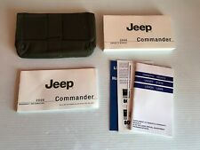 New listing New 2008 Jeep Commander Owners Manual Guide Book Set And Case Oem