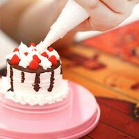 DIY Rotating Plate Cake e Decorating Turntable Display Tool Baking Stand B2S2