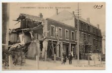 CONFLANS JARNY Meurthe et moselle CPA 54 quartier de la gare maisons bombardées