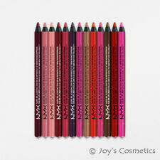 "6 NYX Slide On Lip Pencil Waterproof - SLLP ""Pick Your 6 Color""*Joy's cosmetics*"
