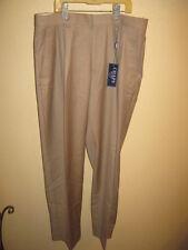New Chaps Dress Pants  65% Polyster 35% Rayon 14H 30H-4  Beige Tan Khaki ???