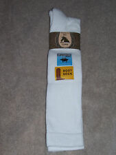 High Meadows - Moisture Wicking Boot Socks - #9157 - White - XLarge - Fits 13-16