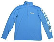 NWT High-End Performance 1/4 Zip Pullover, S-2XL, Blue - Retail $60