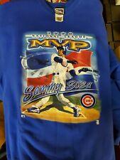 CHICAGO CUBS Retro VINTAGE Sammy Sosa 1998 MVP Sweater 2xl Christmas Gift