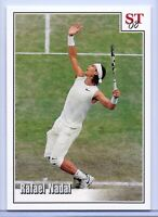 RAFAEL NADAL 2008 WIMBLEDON VS. FEDERER SPOTLIGHT TRIBUTE TENNIS CARD! 1 OF 9!!!