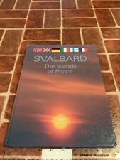 Svalbard The Islands Of Peace Norway Oslo Library Signed Photo Collection Book