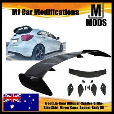 ABS Glossy Black Rear Roof Spoiler For MERCEDES BENZ【W176 A180/200/250 A45 AMG】