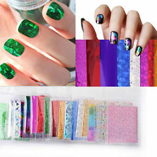 50pc Fashion Nail Art Transfer Foil Nail Sticker Decal Star Style DIY Tips Decor
