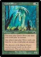 QUICK SLIVER Legions MTG Green Creature — Sliver Com