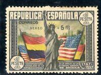 SELLOS DE ESPAÑA 1938 Nº 765 ANIVERSARIO DE LA CONSTITUCIÓN DE LOS EE.UU NUEVO