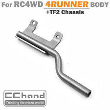 CC HAND Metal Exhaust Pipe for RC4WD 4RUNNER Body + TF2 Chassis