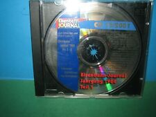 EISENBAHN JOURNAL ~ CD-ROM    12 / 2001 ONLY ~ GERMAN TEXT > VGC SEE PIC'S