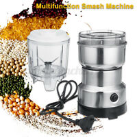 250W Electric Coffee Grinder Machine Milling Bean Nut Masala Spice Grinding Mill