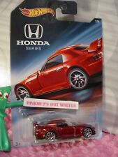 HONDA S2000 #7/8☆metallic red;10s☆2018 Hot Wheels HONDA Series WALMART EXCLUSIVE
