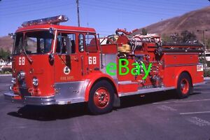 Fire Truck Photo Los Angeles Classic Crown Firecoach Engine Apparatus Madderom