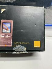 Sony Ericsson K770i Mobile Phone Old Stock Rare Collectors Cell