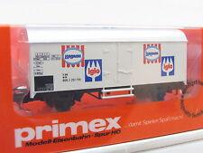 Primex H0 4557 Kühlwagen Langnese Iglo DB ungeöffnete OVP (Q4441)
