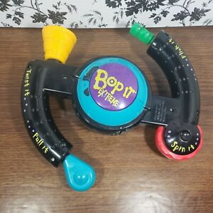 Bop It Extreme 1998 Handheld Electronic Family Party Reflex Game Hasbro Tested