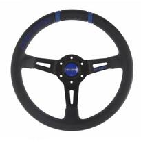GENUINE Momo Drifting BLUE Steering Wheel 330mm with 90mm dish