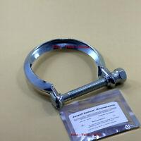 Auspuffschelle ,Montage Schelle für Auspuffanlagen M10 Ø 80 mm +Montagepaste Set