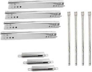 Grill Stainless Steel Burners Heat Plates for Charbroil Performance 475 4 Burner