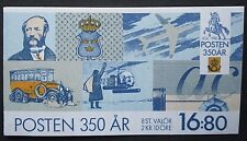 Sweden 1986 350th Anniv of Post Office Booklet. MNH.