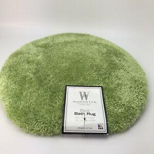 Wamsutta Duet Bathroom Universal Toilet Lid Cover Pear Color