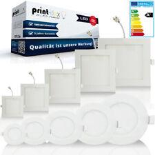 LED Panel Ultraslim Einbauleuchten Unterputz Deckenleuchte 6W 9W 12W 16W 18W 20W