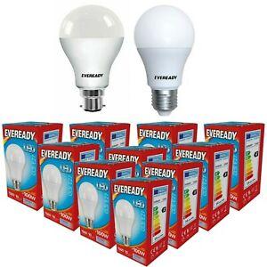 14w = 100w LED GLS Bayonet Light Bulb Warm White / Daylight 100 Watt Eveready