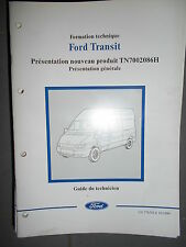 Ford TRANSIT : documentation atelier présentation nouveau produit - 2000 CG7765