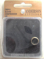 New listing Anderson Brass Sleeve Compression Fitting