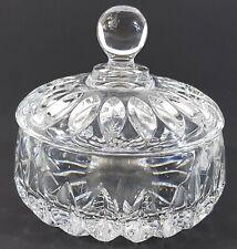 Vintage Gorham Althea Coupe Cristal Bol & Couvercle 11.9cm 11cm Bonbonnière B299