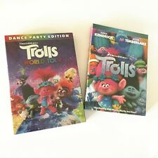 Trolls 1 - 2 (World Tour) DVD Set 2 DVDs Edition Collection Movie Brand New 1 2