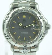 Armbanduhr Tag Heuer Professional 200 Meters 6000 Serie WH 1212 Stahl Papiere