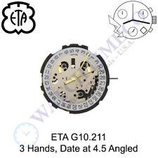 Genuine ETA G10.211 Watch Movement Swiss (Multiple variations)