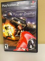 Powerdrome (Sony PlayStation 2, 2004) Power Drome PS2 Complete CIB W/ Manual