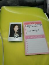 Kpop KARA Nicole signed autographed real authentic instax POLAROID offical
