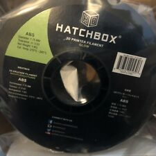 Hatchbox ABS Glow 1.75MM 3D Printer Filament 1KG Per Spool New Unopened
