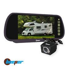 """Caméra de recul rétroviseur 7"""" cam noire CC1-N BEEPER"""
