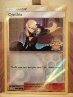 Cynthia 119a/156 Regional Championships Rare Promo Holo Pokemon Card Ultra Prism