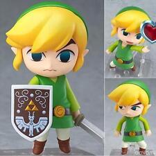 """4"""" Legend of Zelda Link PVC Figures Cute Toys Face Changable Collection 10cm"""