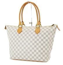 Authentic LOUIS VUITTON Saleya MM Damier Azur Tote Hand Shoulder Bag #37207