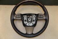 2011 Cadillac SRX Driver Steering Wheel Black & Wood Grain OEM LKQ
