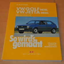 VW Golf 2 II Jetta Diesel 1,6 54 60 70 80PS 1983-1992 Reparaturanleitung SWG 45